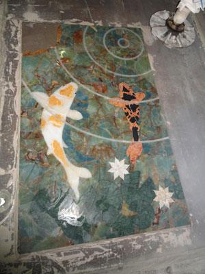 Pond In Marble Mosaic Buenos Aires 2010 171 Txtarte