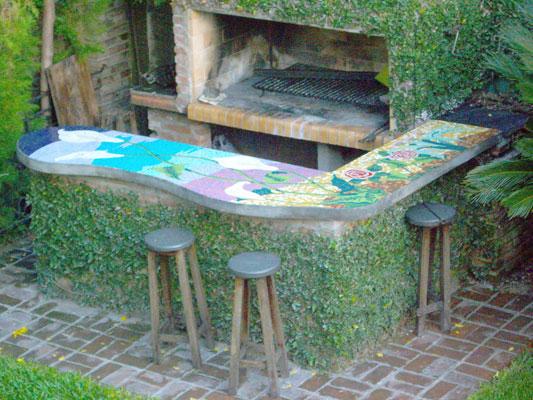 Mesada de mosaico para parrilla buenos aires 2008 txtarte - Parrillas argentinas en barcelona ...