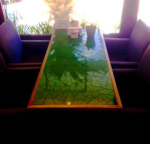 mesas con arte