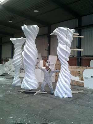 Escultura en porex