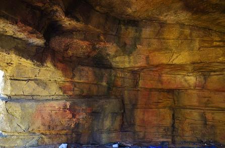 artistic cave